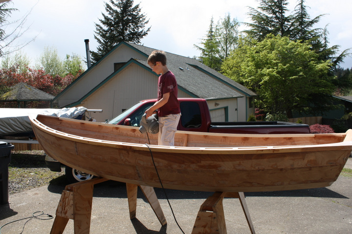 Duck boat and other plan: Pooduck skiff boat plans
